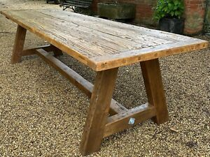 Large Refectory Period Dining Table