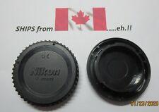 Nikon Front Camera Body Cap (Nikon F)