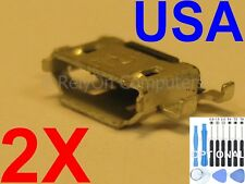 2x For BLACKBERRY PRIV STV100-1 Lot of Micro USB Charging Port Charger Sync USA