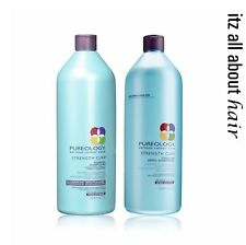 Pureology - Strength Cure - Shampoo 1000ml + Conditioner 1000ml