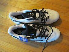 Men's Reebok NFL White W/Black Cleat Shoes Size 14 NWOT