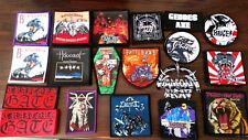 Tygers .Cloven Hoof.Diamond Head. Holocaust.Tokyo Blade.Demon. NWOBHM. Patches