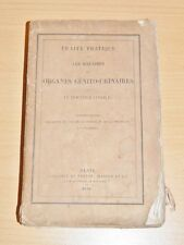 CIVIALE Maladies Génito-Urinaires UROLOGIE GYNECOLOGIE MEDECINE 5 PLANCHES 1841