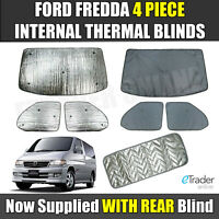 Marvix Internal Cab Screen Thermal Blinds Premium Window Cover Master Movano 2010 On