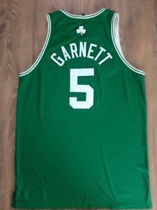 Kevin Garnett Boston Celtics pro cut adidas authentic NBA jersey