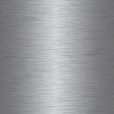 1.5m BRUSHED STEEL METAL METALLIC SILVER Self Adhesive STICKY BACK PLASTIC VINYL