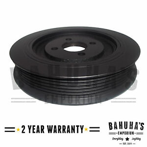 CRANKSHAFT PULLEY FOR A PEUGEOT BOXER 2.5 D/TD/TDi 94>02 *NEW* 2 YEAR WARRANTY