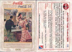 R@R@ AND ORIGINAL CARD U.S.A.*COCA COLA, FIRST SERIES-N.11*- NEW,PERFECT-N.391