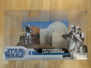 Star Wars The Legacy Collection Disturbance at Lars Homestead Japanese Import