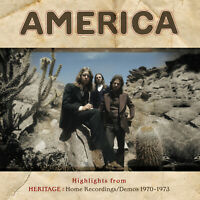 """America • Highlights From Heritage • 12"""" VINYL RECORD LP 2018   •• NEW ••"""