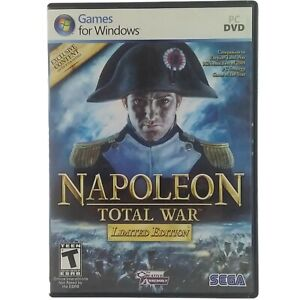 Napoleon Total War PC DVD-ROM Limited Edition