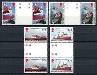 Brit. Antarktis BAT Antarctic 2000 Schiffe Ships Navi Stegpaare 307-310 MNH