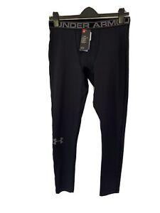 Men's Under Armour ColdGear Black Leggings. Base Layer - 1282959 - Black (XL)