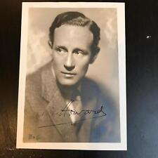 Beautiful 1930's Leslie Howard Signed Autographed Photo Gone With The Wind JSA