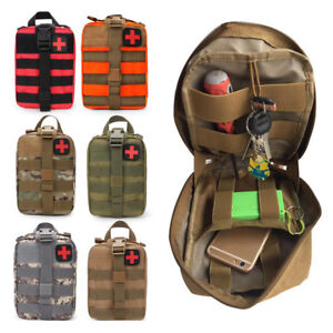 Outdoor Travel First Aid Bag MOLLE Survival Emergency EMT Medical Waist Pouch