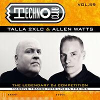 CD Techno Club Volume 59 von Talla 2XLC & Allen Watts 2CDs