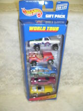 HOT WHEELS GIFT PACK 1998 SET/ 5 WORLD TOUR NIP