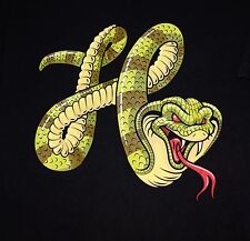 "UC! HIPSTAR Men's/Teens Colorful COBRA t-shirt sz M ""Year of the SNAKE"""
