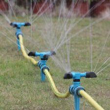 3x Irrigatore per irrigazione a spruzzo con irrigatore da giardino a 360°