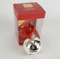 2008 Lenox Silver Plated Sleigh Bell Annual Holiday Macy's Exclusive