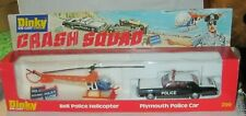 DINKY TOYS - 299 CRASH SQUAD - PLYMOUTH POLICE CAR / HELICOPTER MIB MINT/PERFECT