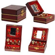 1/12 Dollhouse Miniatures Jewelry Box /Doll Room Decor House Accessory N2P5