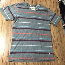 Vans Off The Wall striped Shirt Size S #7263