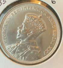 1935 Canadian Silver Dollar **Cleaned**