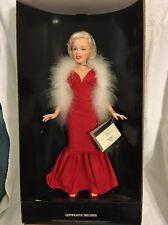 "1983 World Doll Celebrity Series 19"" Marilyn Monroe Doll Red Dress"