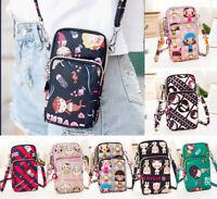 Cross-body Mobile Phone Bag Coin Purse Handbag Wallet Waterproof Shoulder Bag