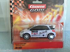 Carrera GO 61101 Suzuki SX4 WRC Testversion 2007 Rarität in OVP NEU