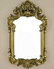 Miroir MURAL DECO-miroir baroque miroir salle de bain couloir miroir ancien or baroque-cadre