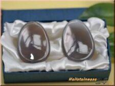 Augensteine Paar aus Achat - Harmonie -