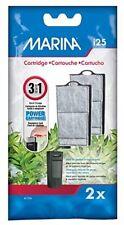 Marina Power Cartridge Replacement I25 Filter 2pk Aquarium Fish Tank