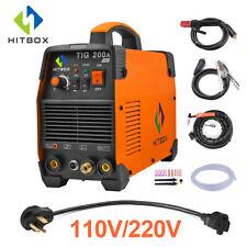 HITBOX TIG Welder 110V/220V Double Volt Welding Machine MMA ARC Lift TIG Welder