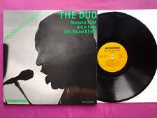 LP 2x 33T / Memphis Slim, Michel Denis – Live In Paris  / EX