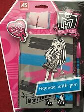 Monster High Agenda Notepad With Pen - Journal Notepad