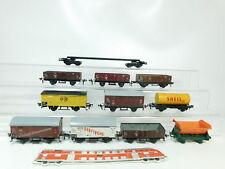 bj410-2 # 11 X FLEISCHMANN H0 / DC Vagón de mercancía: PECES MARINOS+shell etc.