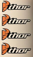 4x Thor pegatinas moto cross Dirt bike Pocket Supermoto racing tuning retro #285