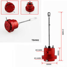 Aluminum Alloy Red Turbo Adjustable Wastegate Actuator & Rod Pressure Relief
