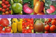 Tomatensamen Raritäten 10 alte Sorten mix, Eier Fleisch Cocktail Samen Saatgut
