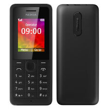 BRAND NEW GENUINE NOKIA 106 SIM FREE UNLOCKED MOBILE PHONE - BLACK