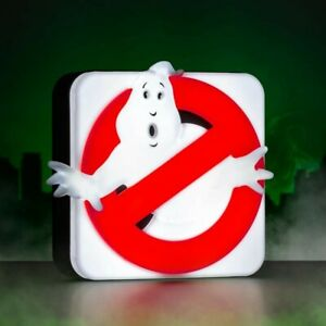 OFFICIAL GhostBusters 3D Night Light Bed LED Lamp Desk Kids Dinosaur Movie New