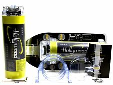 Hollywood HCM 2 - 2 Farad - Kondensator - Powercap - Spannungsanzeige - Car Hifi