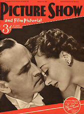 PICTURE SHOW, 21 Dec 1940, Gary Cooper, Bing Crosby, Joan Crawford, near mint  ^