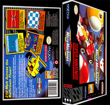 Micro Machines - SNES Reproduction Art Case/Box No Game.