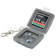 Caisson Boîte Etui Etanche de Protection pour Carte Mémoire Flash CF SD xD