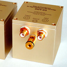 YAMAMOTO SOUND CRAFT MC step up transformer SUT-03 one pair for High impedance.