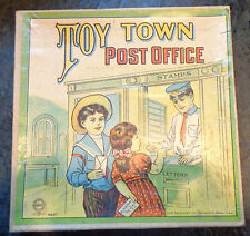Old Milton Bradley game Toy Town Post Office