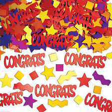 All Occasions Words Party Confetti